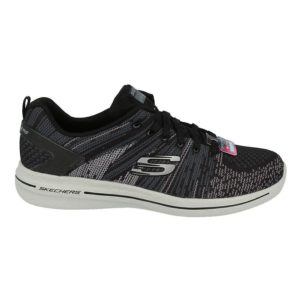 Skechers Burst 20 12651BKGY universal summer women shoes