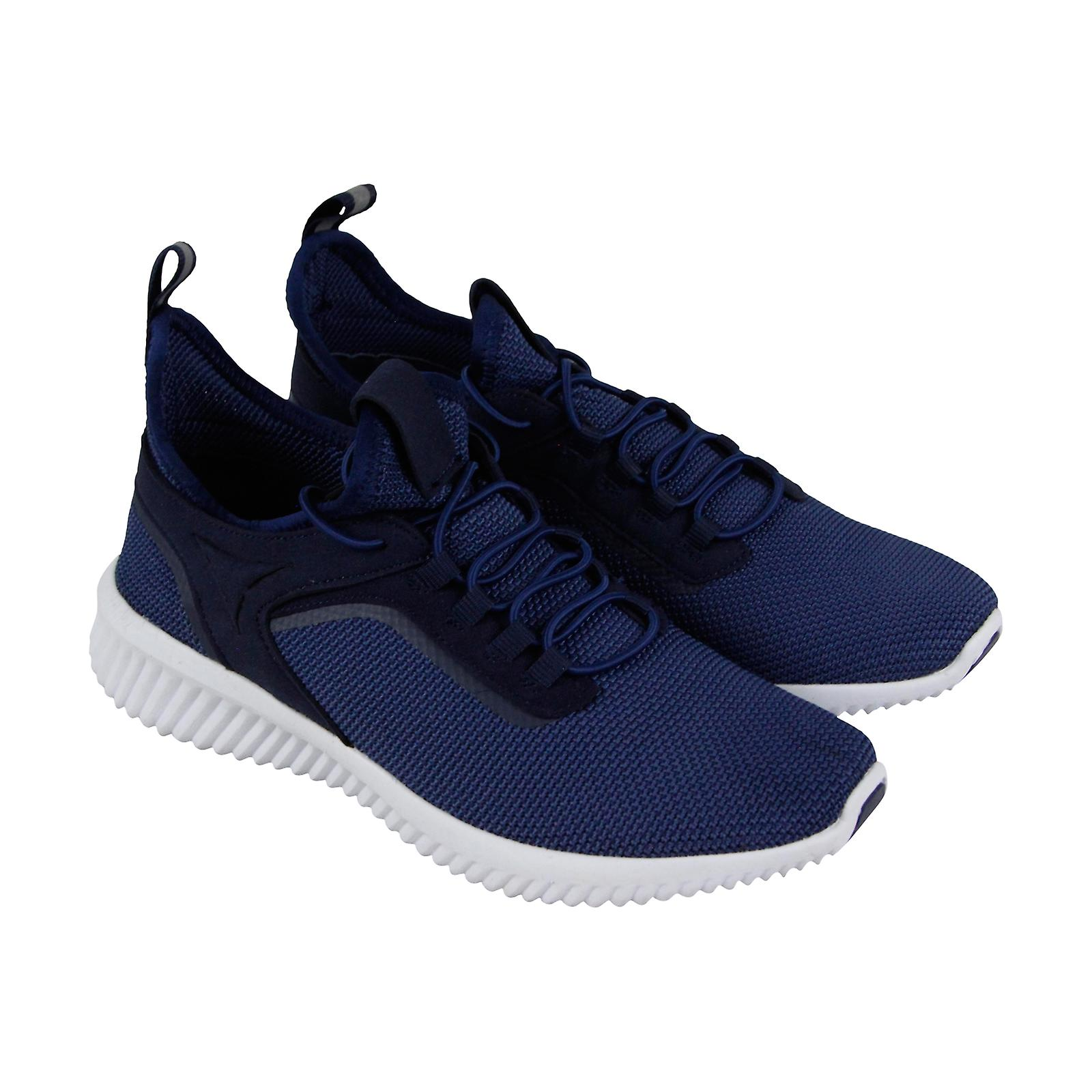 Casarse Pinchazo Bocadillo  Steve Madden mens blå canvas casual slip på mode sneakers skor ...