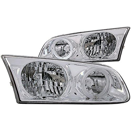 Anzo USA 121124 Toyota Camry with Halo Chrome Headlight Assembly - (Sold in  Pairs)