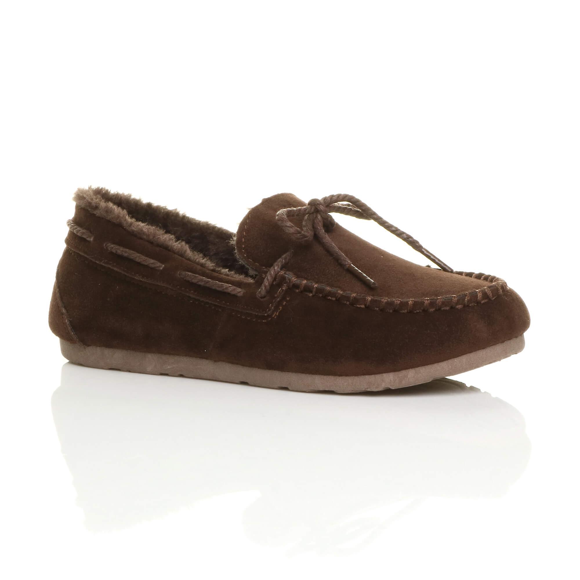 skor med fårskinn