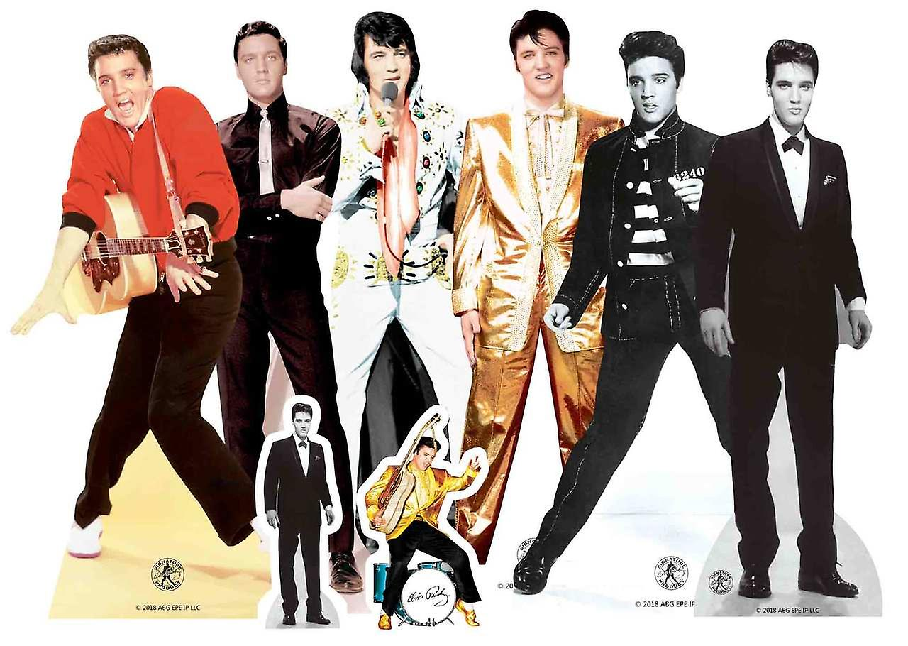 9c5f86fdcc3b02 Elvis Table Top Cardboard Cutouts Party Pack of 8