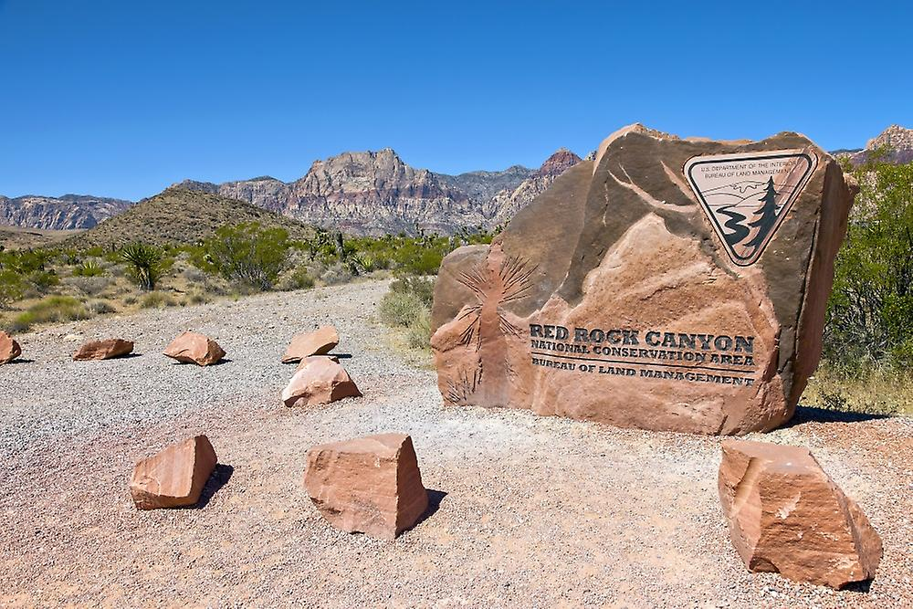 Red Rock Canyon National Conservation Area Poster