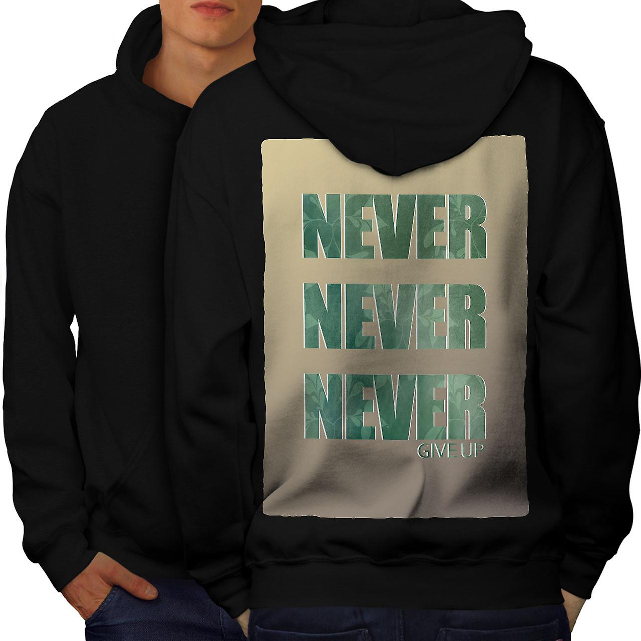 M Never give up fashions