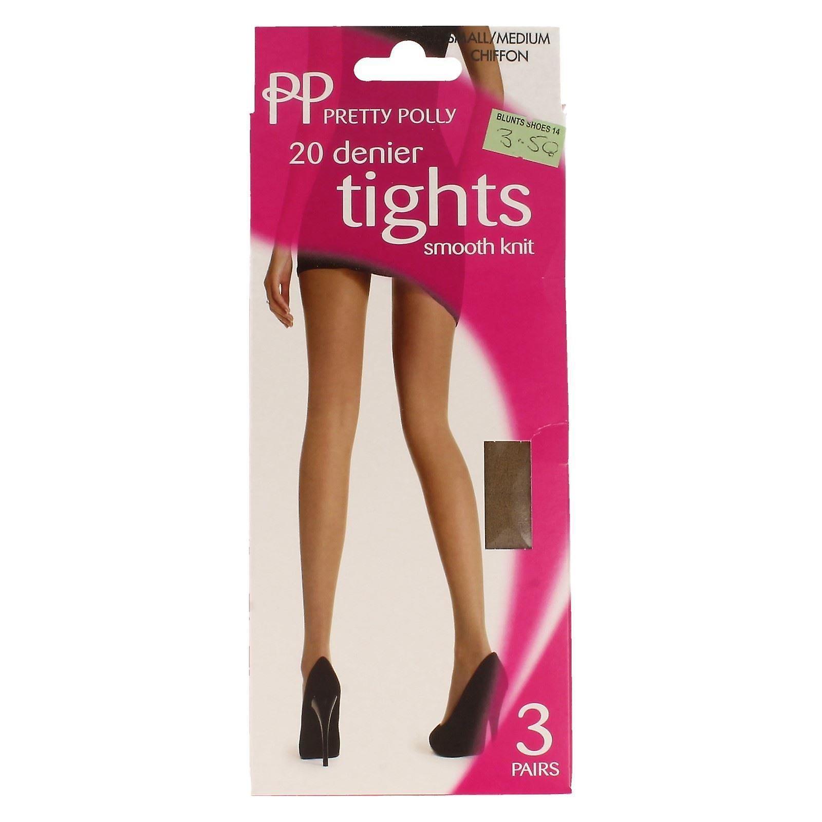 a434767faaea9 Ladies Pretty Polly 20 Denier Smooth Knit Tights | Fruugo