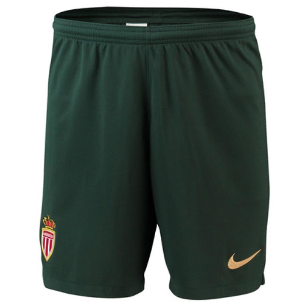 watch a727b 92b17 2018-2019 Monaco Away Nike Football Shorts (Kids)