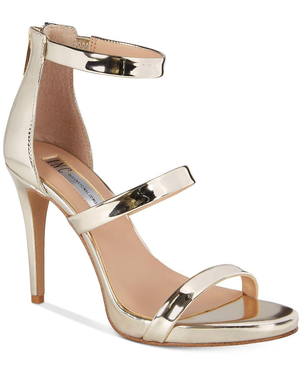 c441cb99fee INC International Concepts Womens Sadiee Open Toe Casual Ankle Strap Sandals