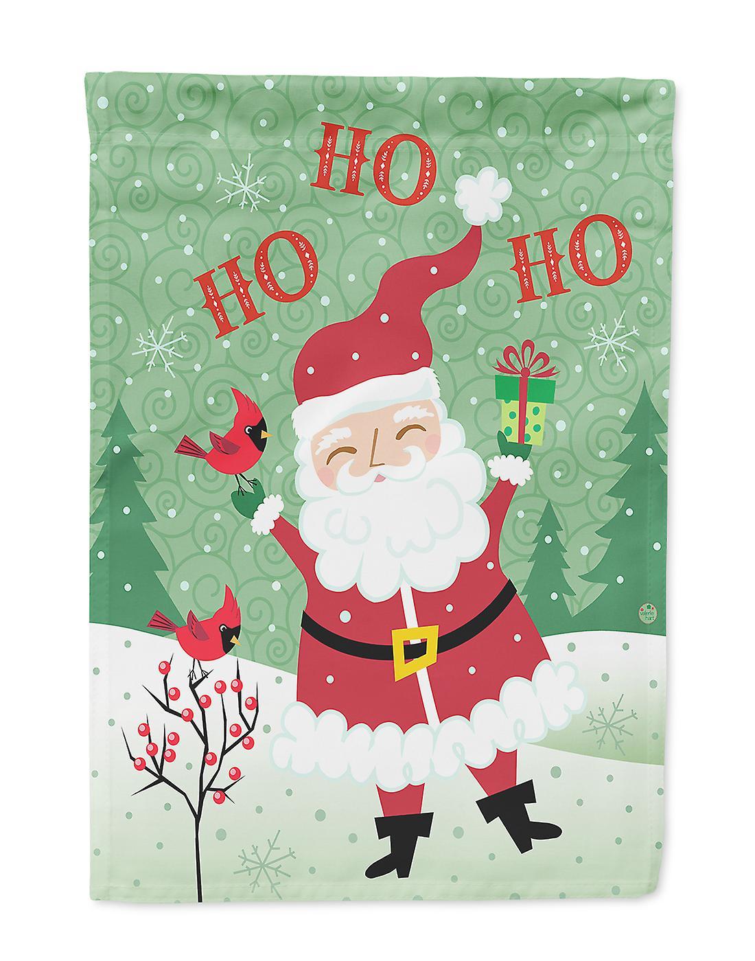 Ho Ho Ho Frohe Weihnachten.Frohe Weihnachten Santa Claus Ho Ho Ho Flagge Garten Grosse