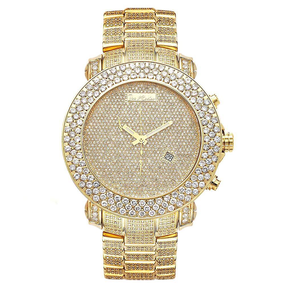 Joe Rodeo Diamant Herren Uhr Junior Gold 25 5 Ctw Fruugo