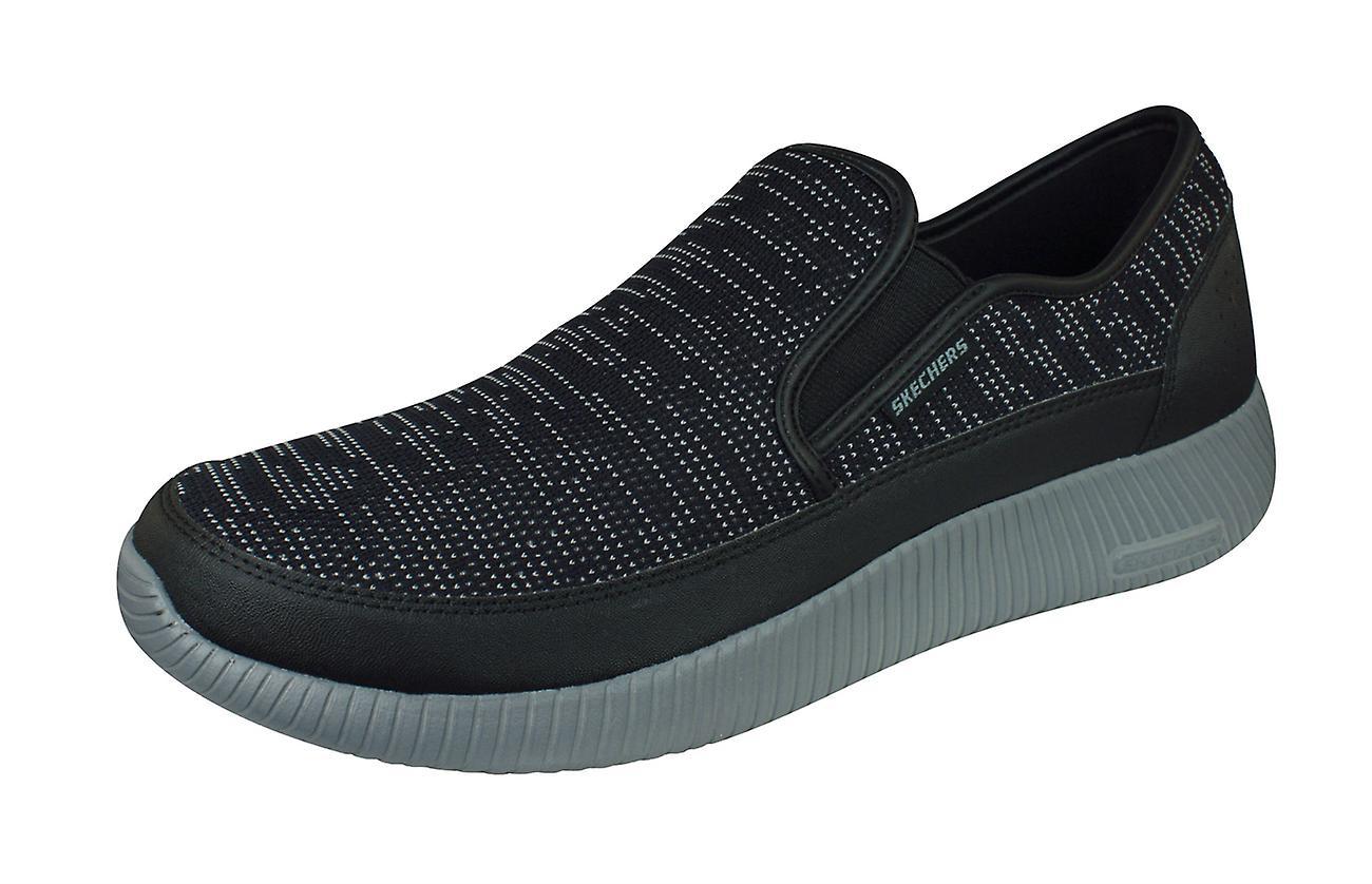 Black Skechers Memory Foam Shoes | Kohl's