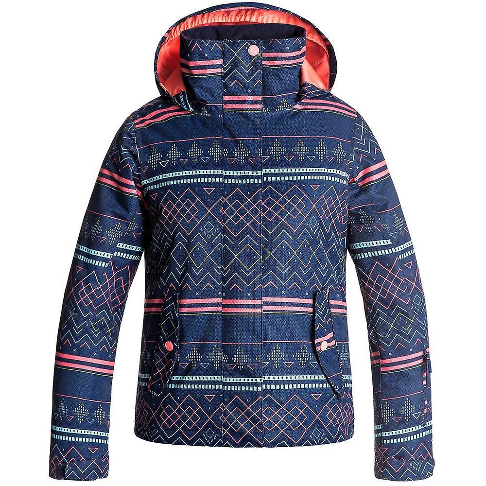 ce1ca437 Roxy klær jenter brygge vanntett isolert Taffeta Ski jakke strøk ...