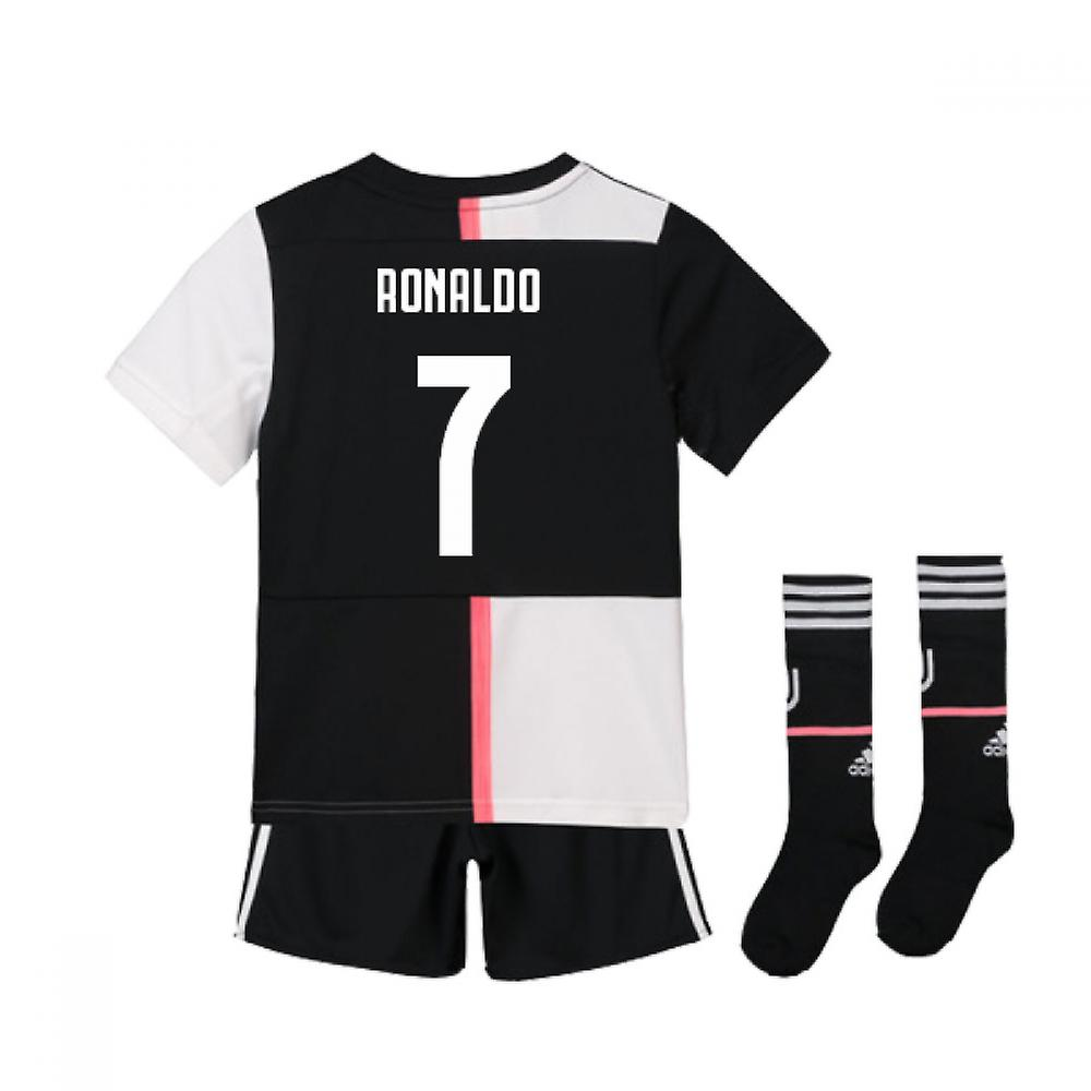 info for 85376 c4ce9 2019-2020 Juventus Adidas Home Mini Kit (Ronaldo 7)
