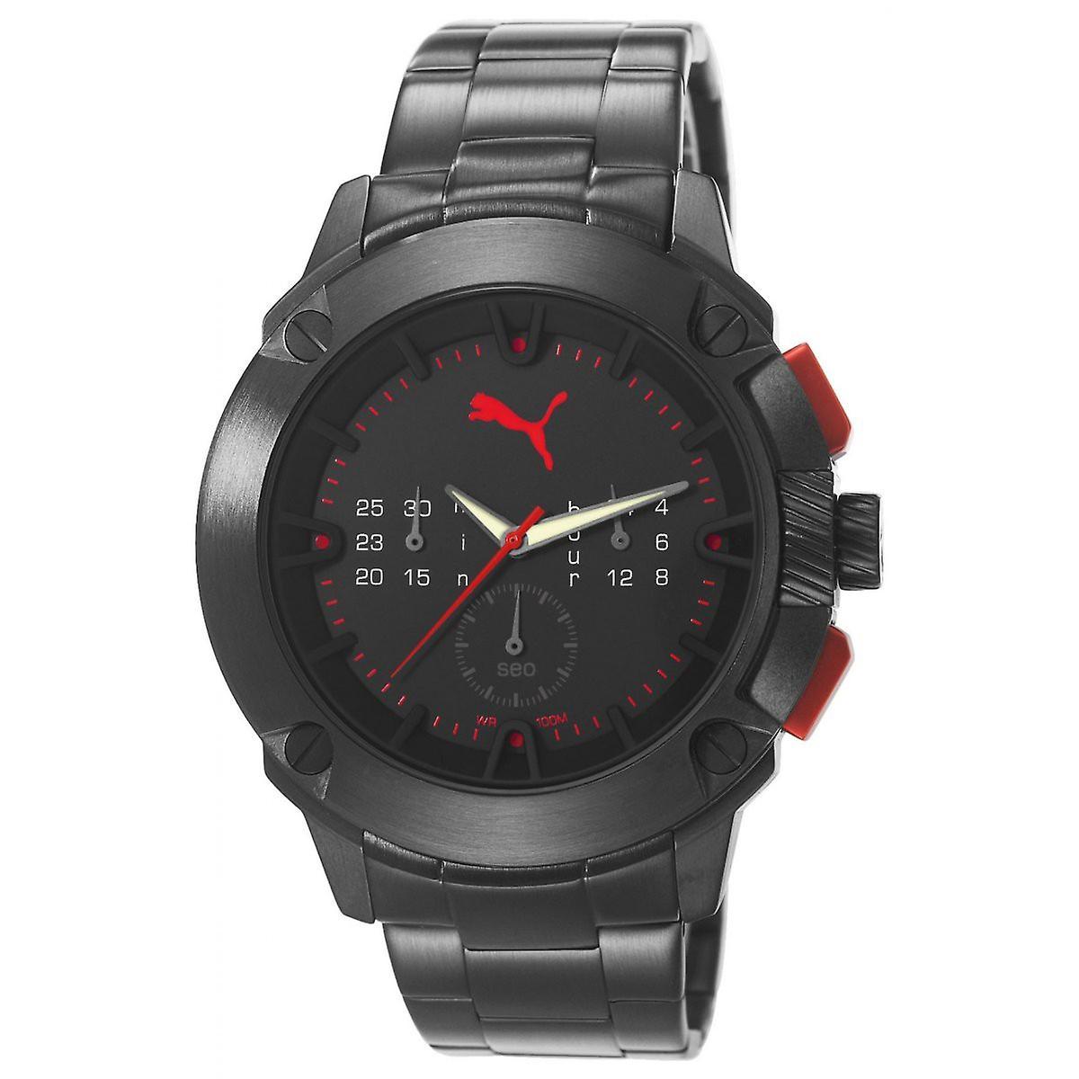 big sale 99caf 72a81 プーマ時計手首腕時計クロノグラフ メンズ ハイブリッド PU103711001