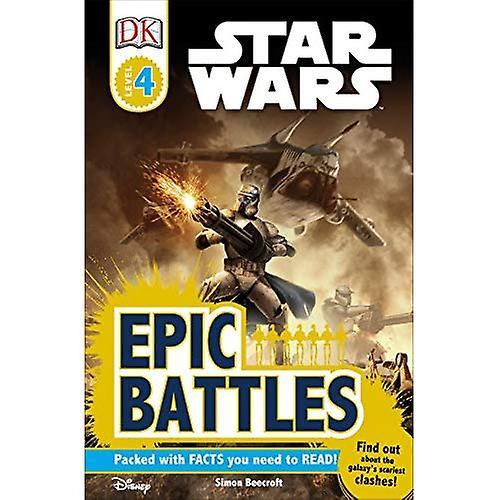 Star Wars Epic Battles (DK Reader - Level 4)   Fruugo