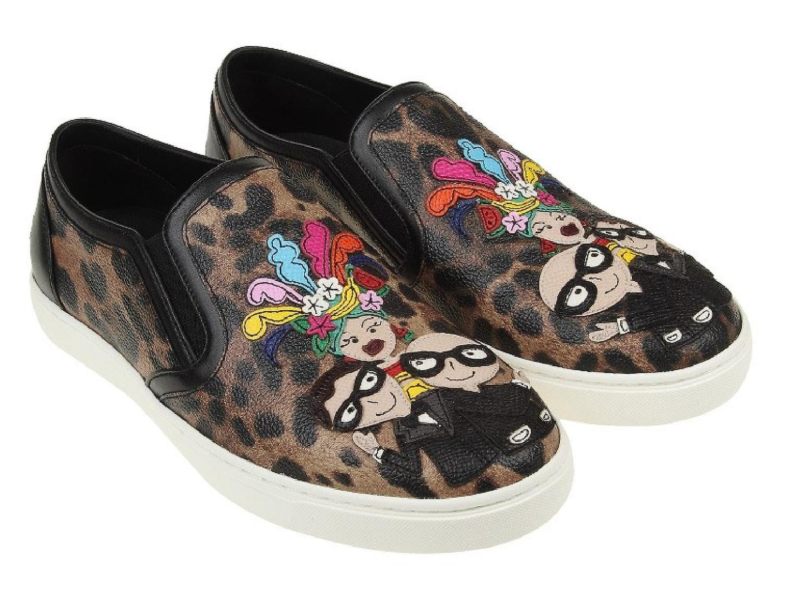 Print Women's Dolce amp;gabbana Animal Slip SneakersFruugo On xdWroCBe
