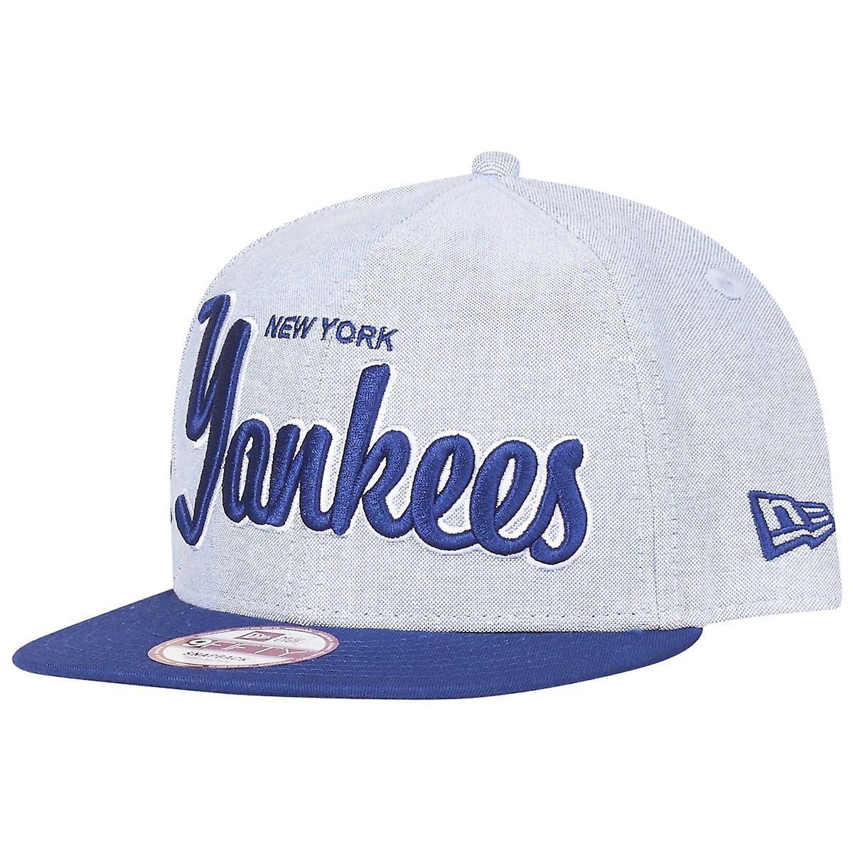 585a4715e42 New era 9Fifty Snapback Cap - RETRO NY Yankees sky blue