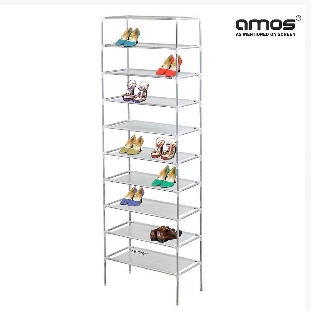Rek Voor Schoenen.Amos 10 Tier Uitschuifbare Schoen Rek Fruugo