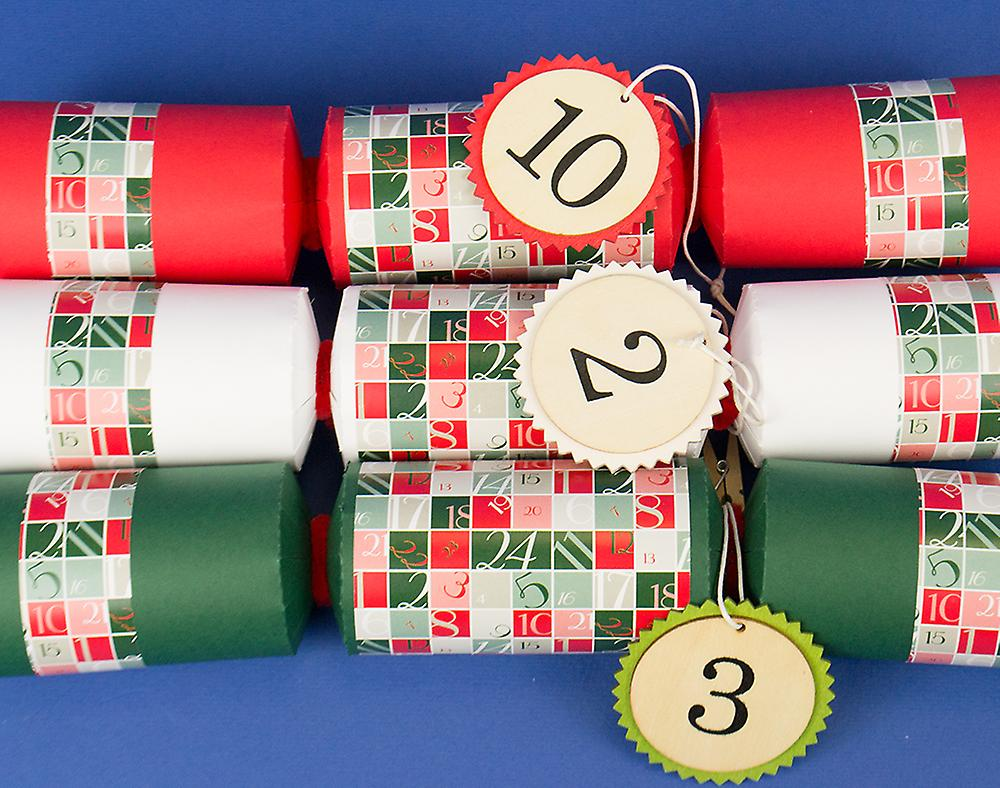 24 make fill your own advent christmas crackers with numbers kit 24 make fill your own advent christmas crackers with numbers kit solutioingenieria Gallery