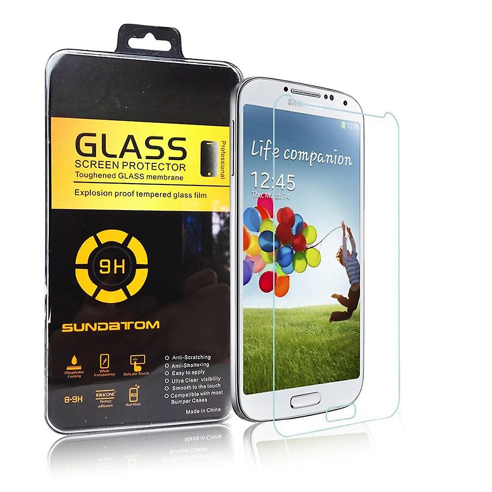 Samsung Galaxy S4 GT I9500 / GT-I9505 / GT-I9506 / GT-I9515 value Edition  screen protector 9 H 0 26 mm thin armour protection glass laminated glass