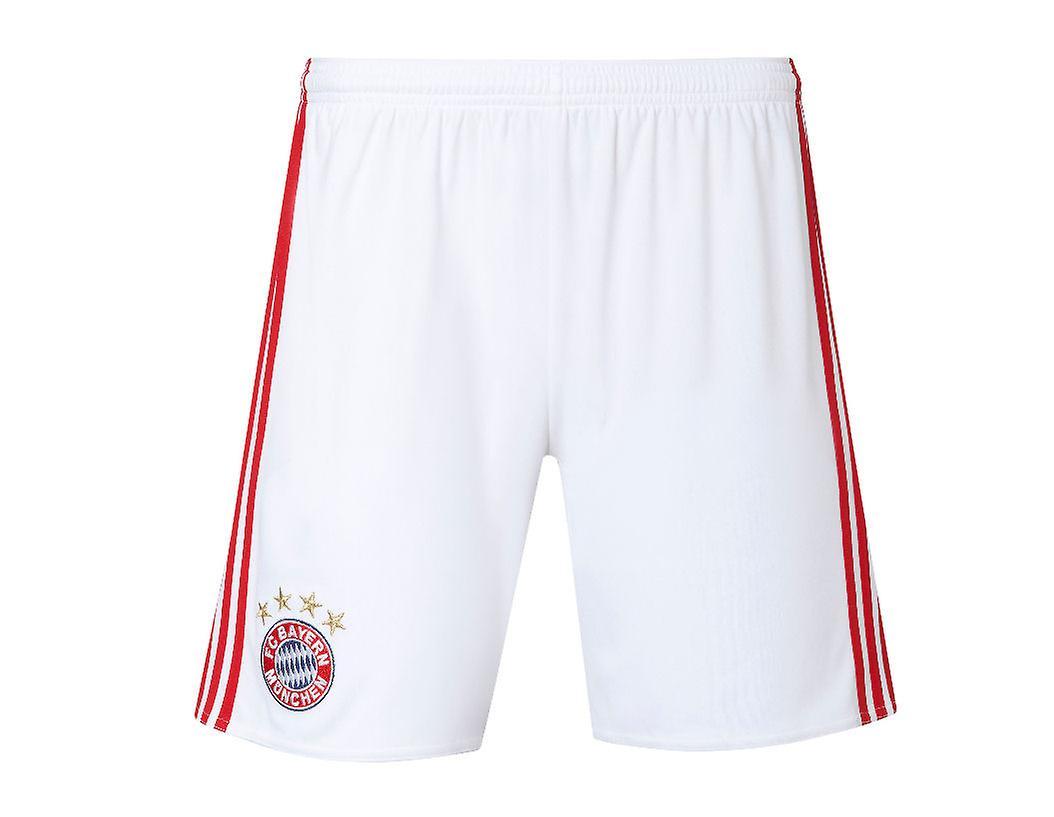 2016-2017 Bayern Munich Adidas Home Shorts (White)   Fruugo 8f7ed037e7