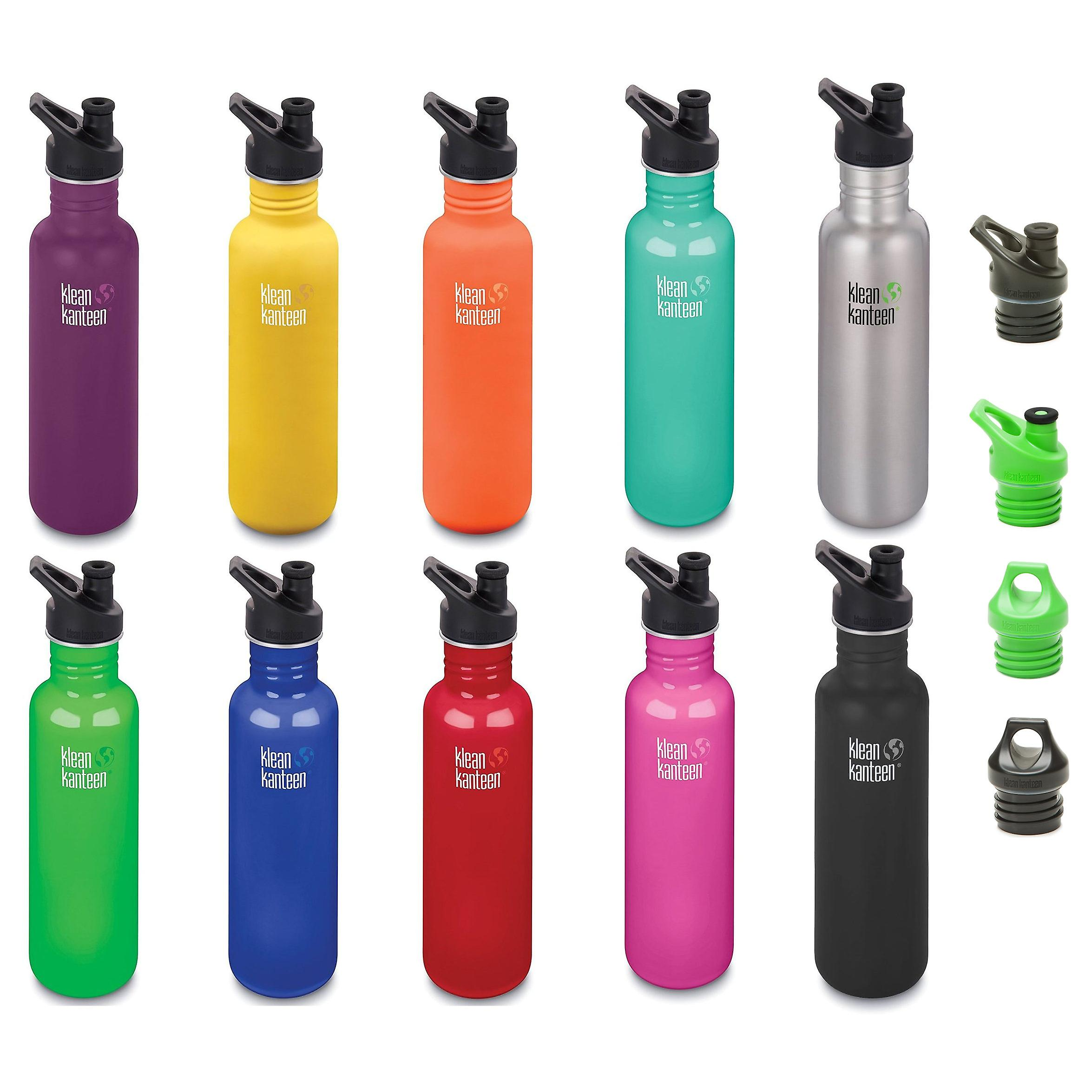 ce21bc6852 Klean Kanteen Classic 27oz Stainless Steel drinks bottle - New Klean Coat  finish