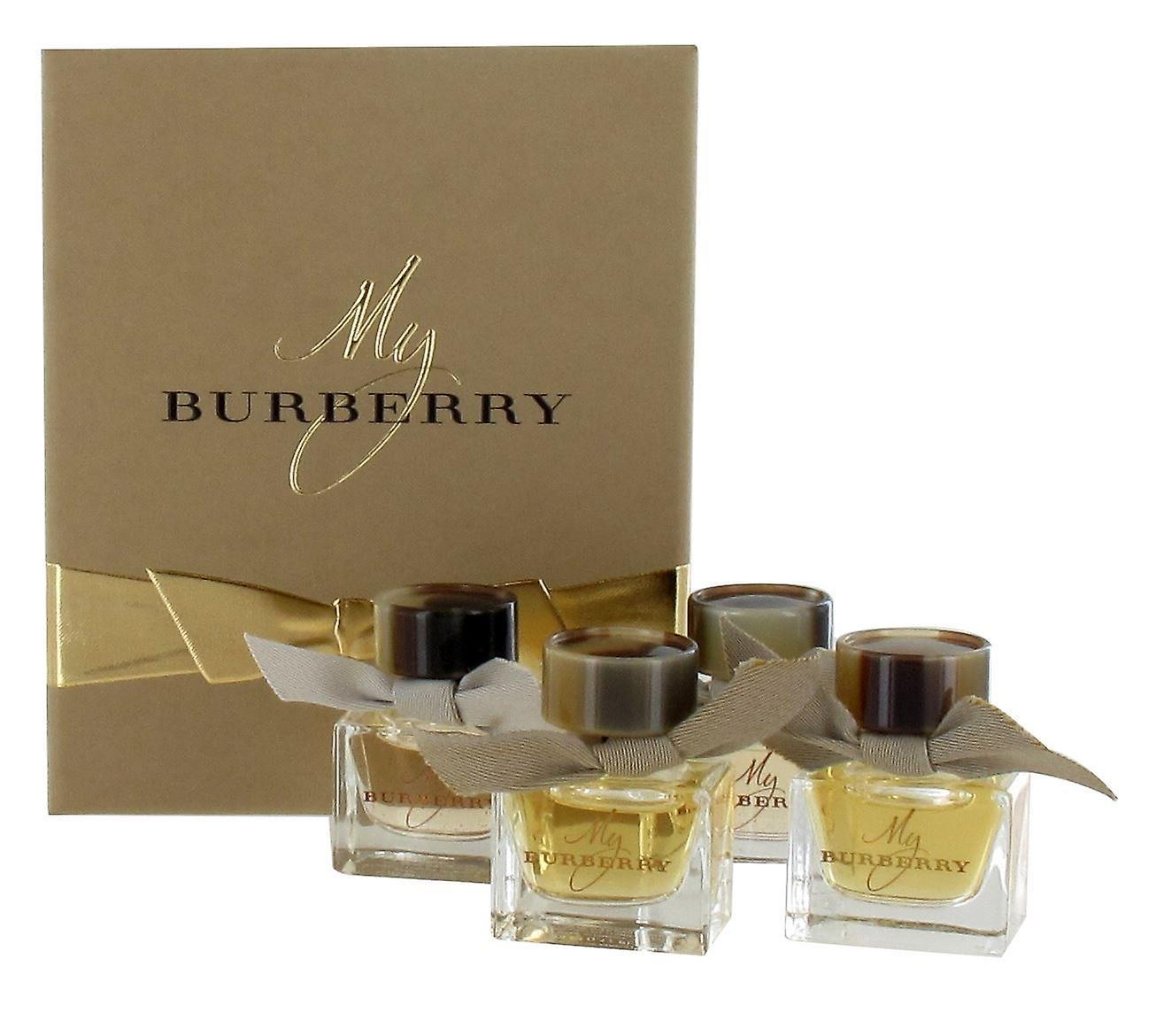 Burberry Miniature Gift Set for Women - 2 x My Burberry 5ml Eau de Parfum and  sc 1 st  Fruugo & Burberry Miniature Gift Set for Women - 2 x My Burberry 5ml Eau de ...