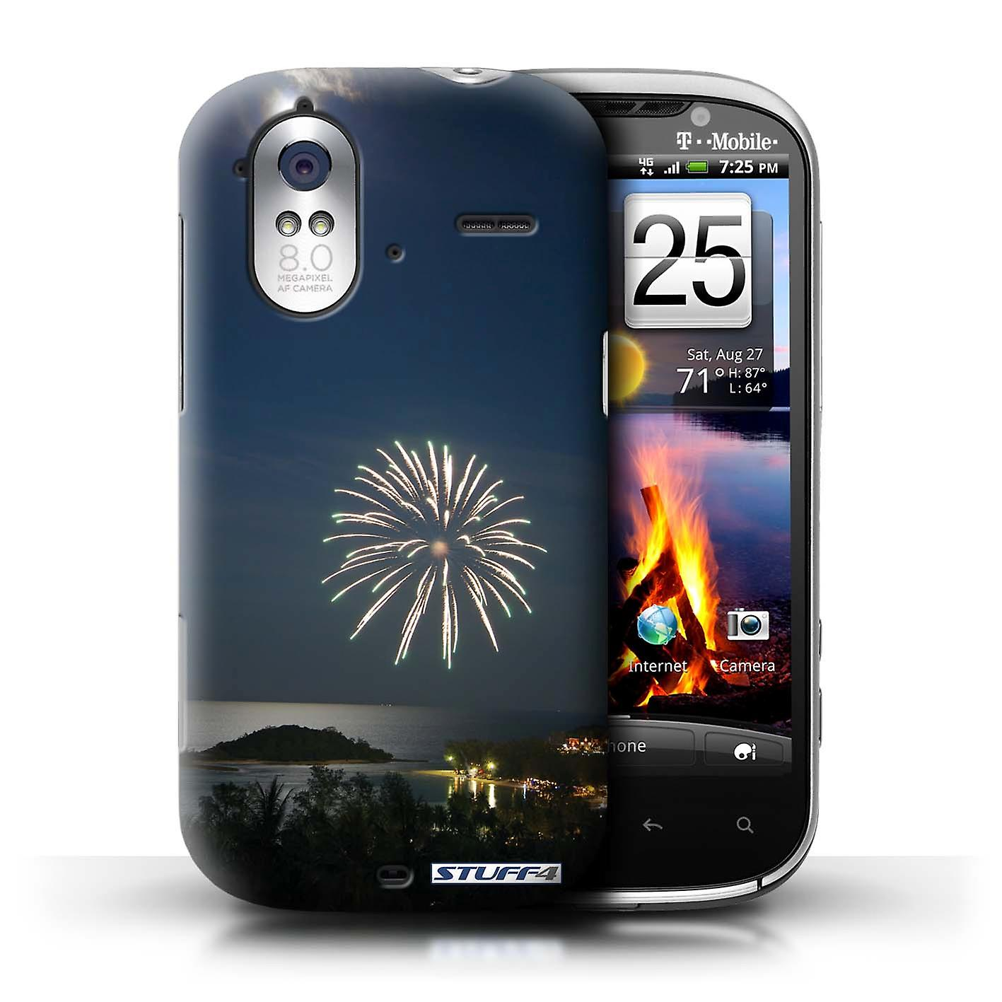 STUFF4 Case/Cover for HTC Amaze 4G/Firework/Moonlight/Thailand Scenery