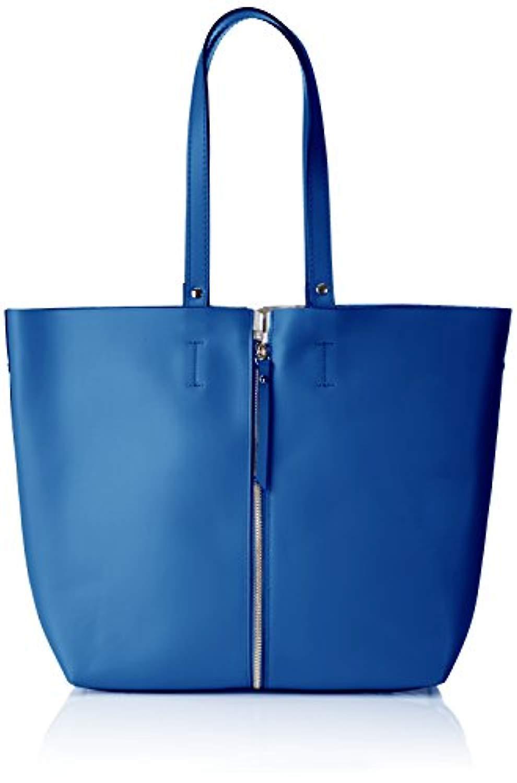 Chicca väskor 8608 blå kvinnors axelremsväska (blå) 33x30x13