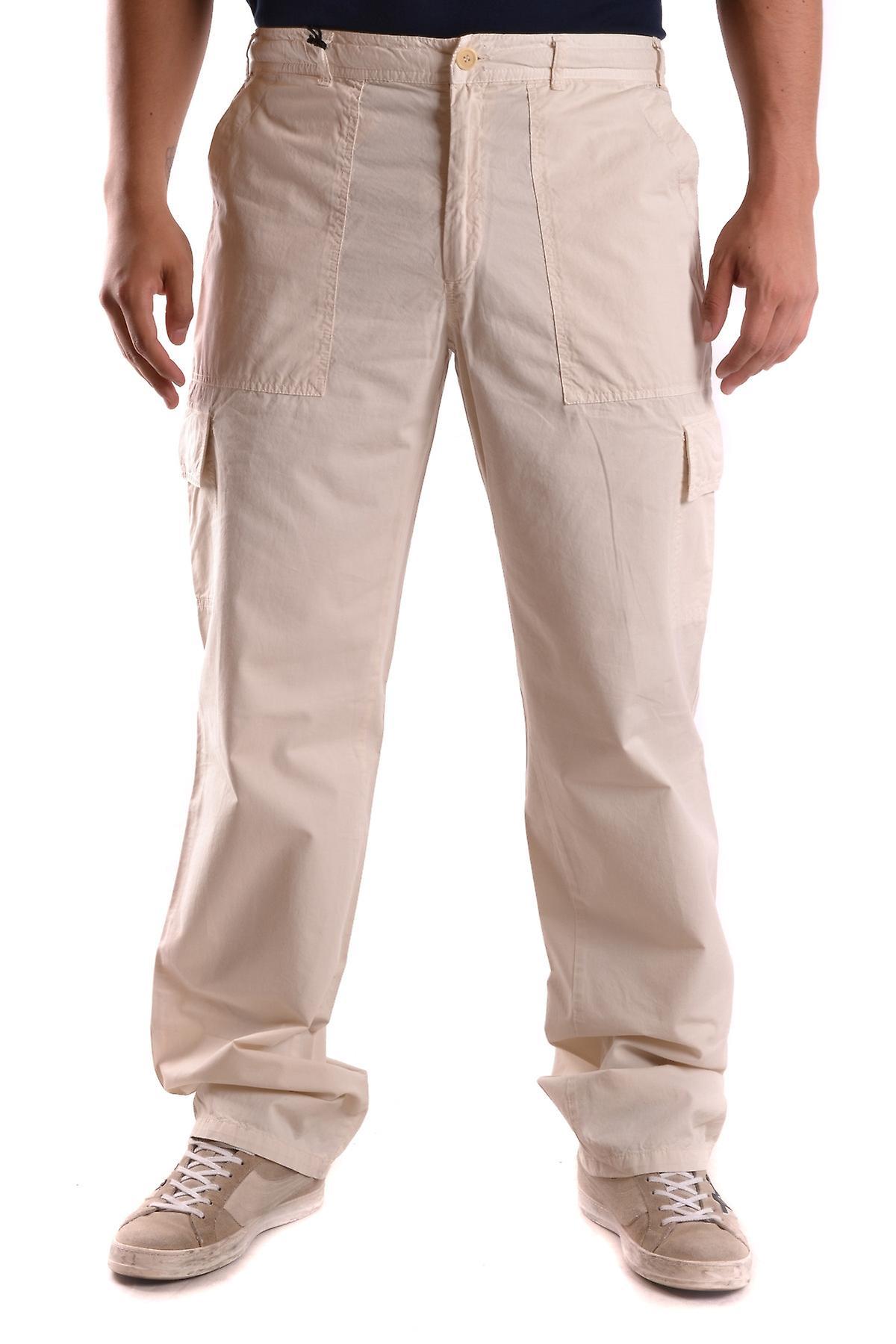 low priced 4e314 cbc89 Alberto Aspesi Beige Cotton Pants