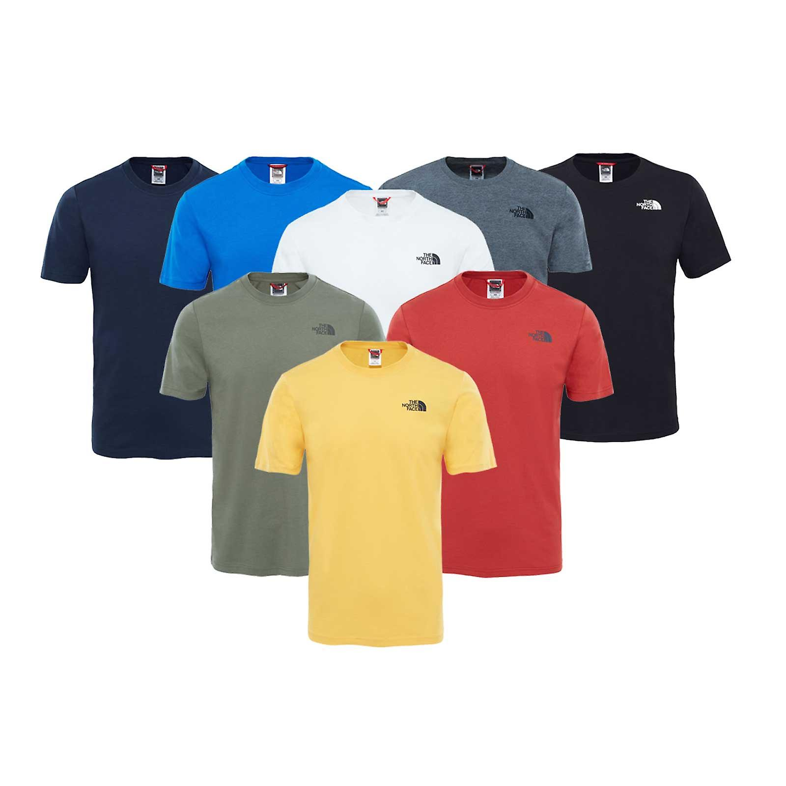 4840f2e0d The North Face Mens Red Box T-Shirt
