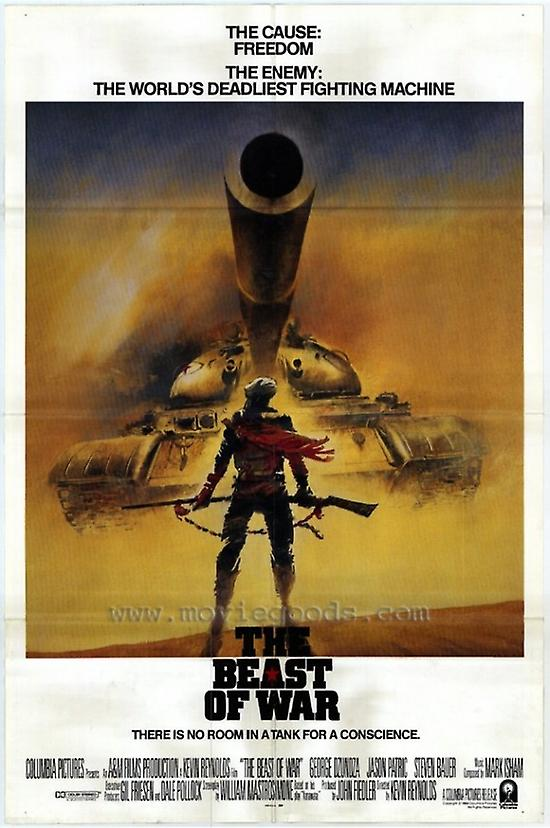 Backing to the Future  Movie Poster Restoration  Linen