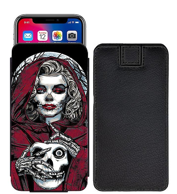 new concept 4ad85 bf2cd Skull Custom Designed Printed Pull Tab Pouch Phone Case Cover for BLU  Studio J2 - skull40_web