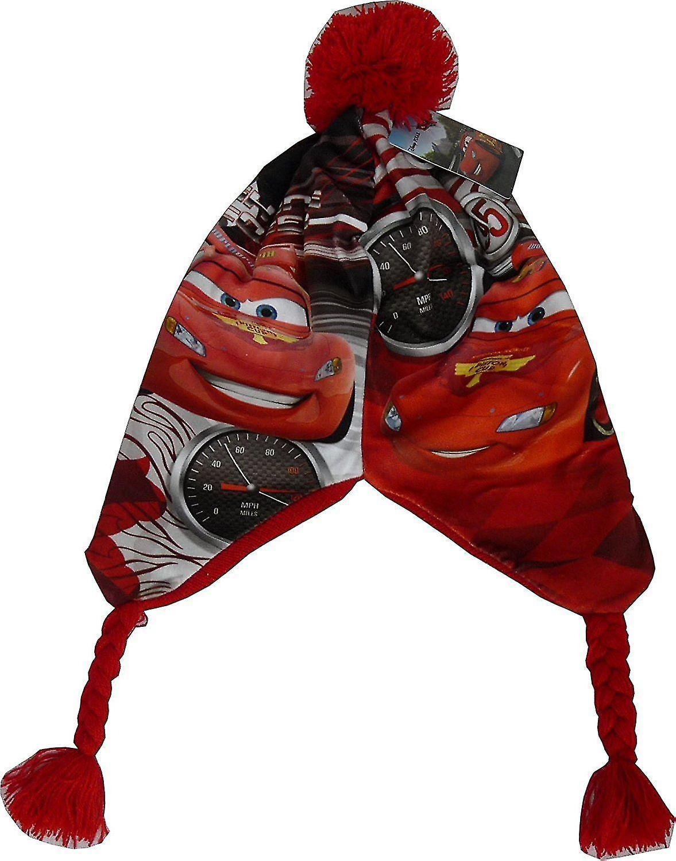 95638f10e2b Boys Disney Cars Lightning McQueen Peruvian Winter Hat