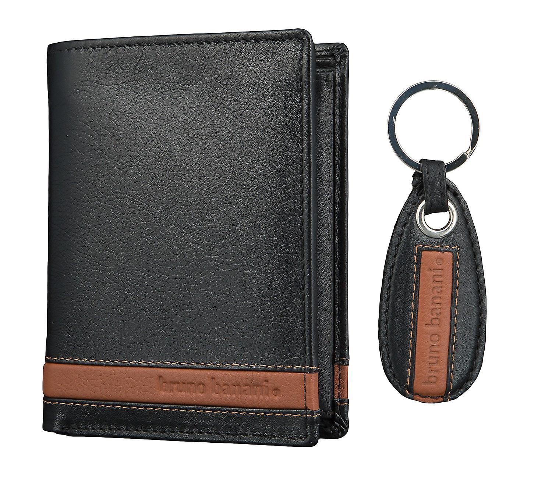buy popular bc522 d6d09 bruno banani Herren Geldbörse Portemonnaie Geldbeutel mit Schlüsselanhänger  2687