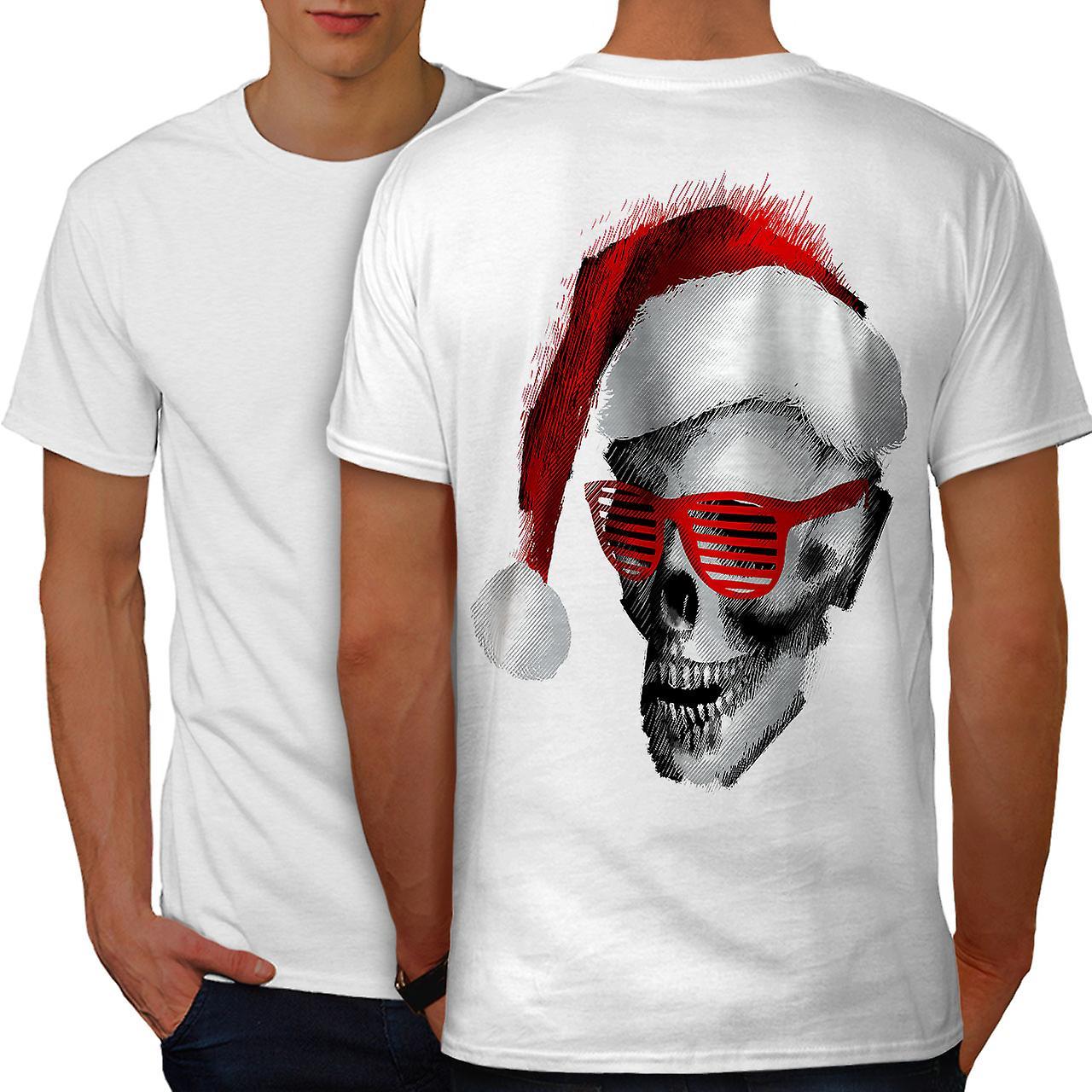 Swag santa claus fashion men whitet shirt back wellcoda