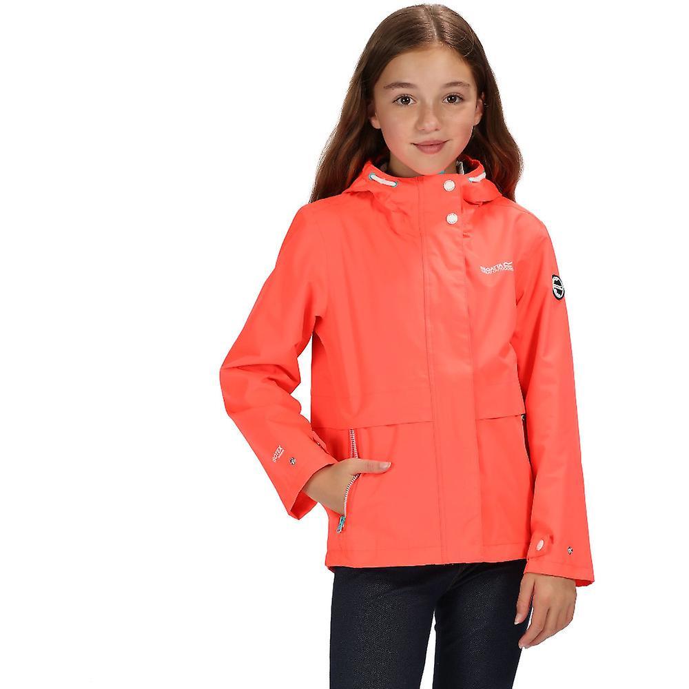 65e1ee02f Regatta Girls Bambalina Waterproof Hooded Jacket Coat