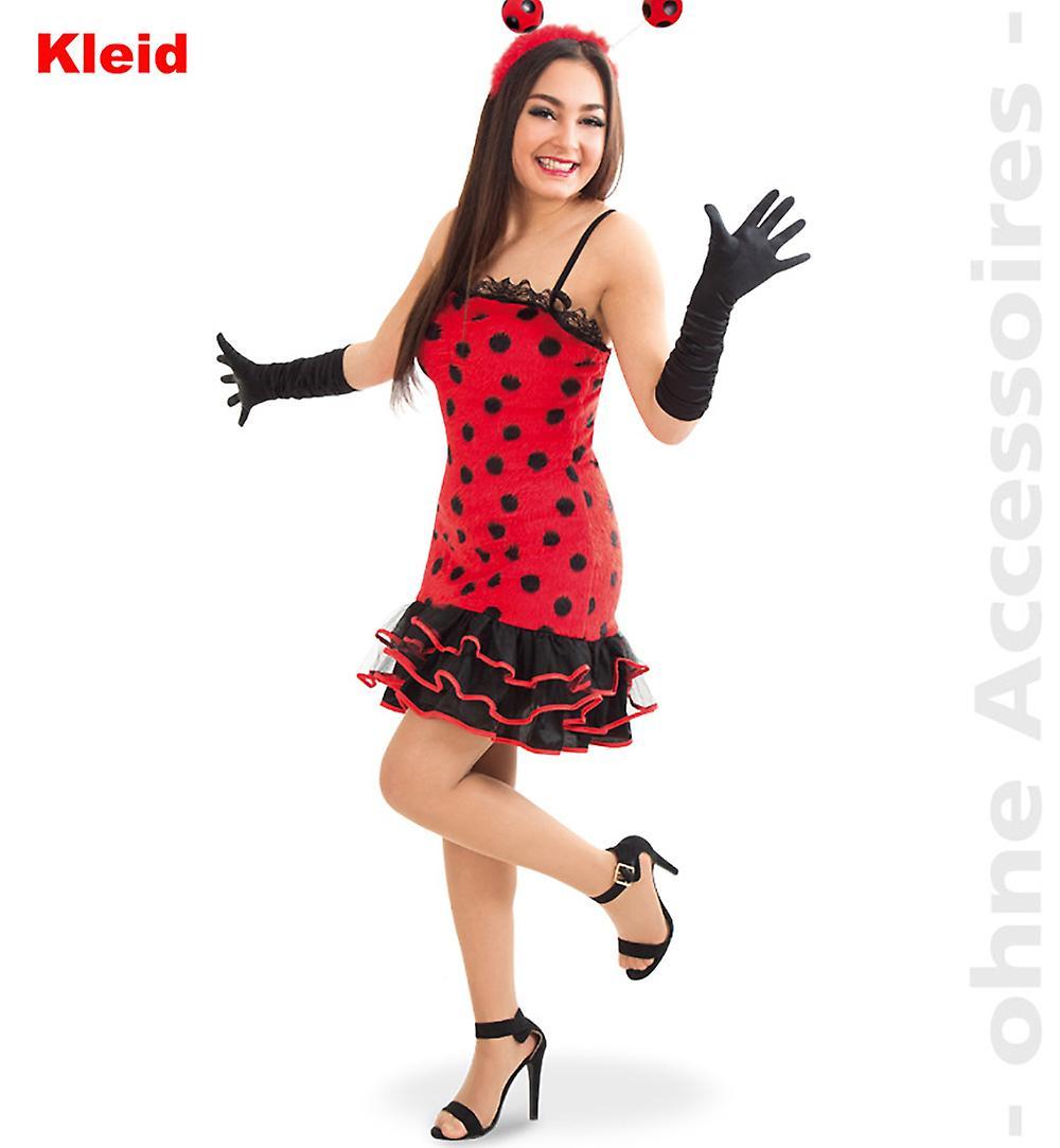 offizielle Bilder das beste Super süße Marienkäfer Kostüm Damen Käferlady Glückskäfer Brummer Käfer Damenkostüm