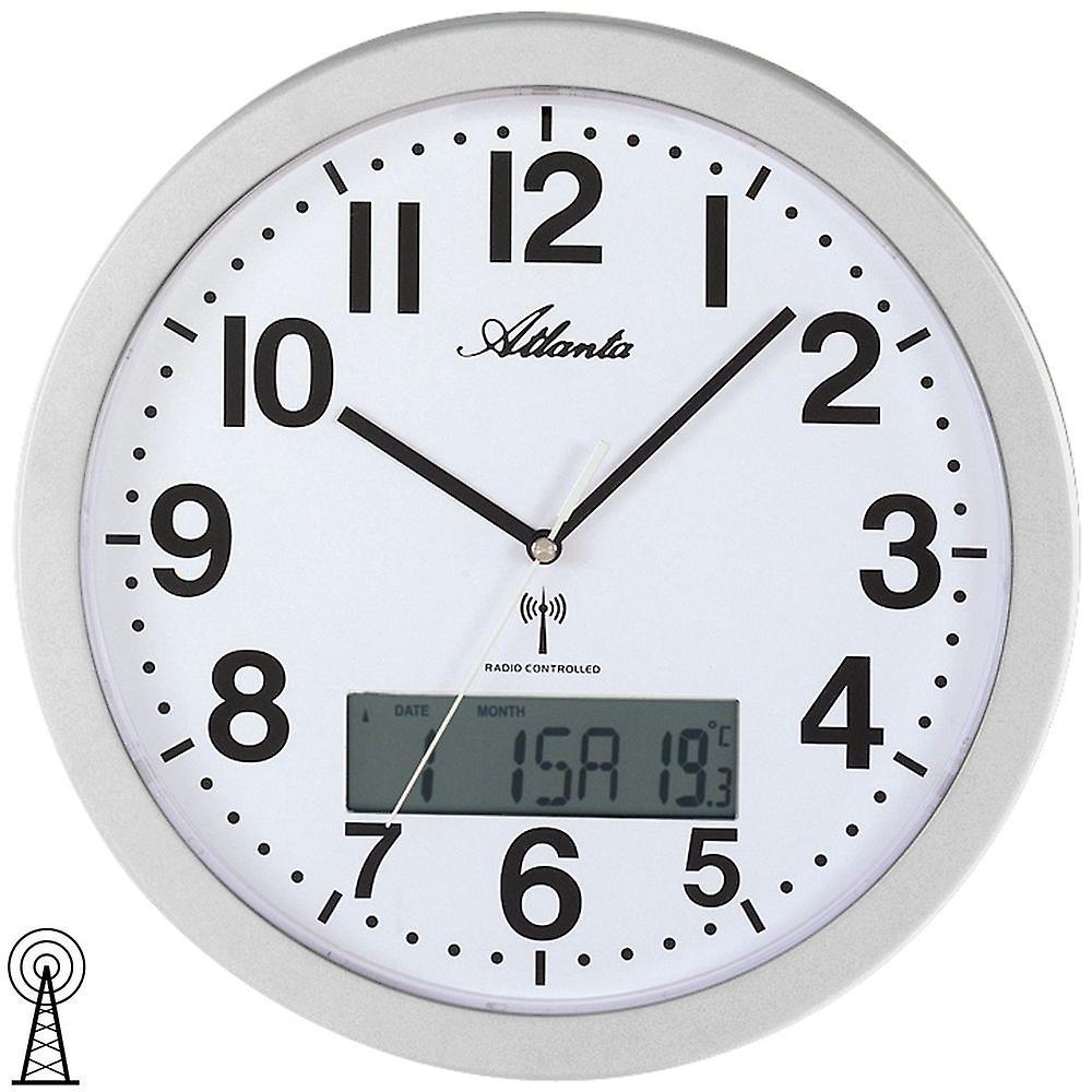 Wall Clock Wall Clock Radio Digital Display Of Day Date And
