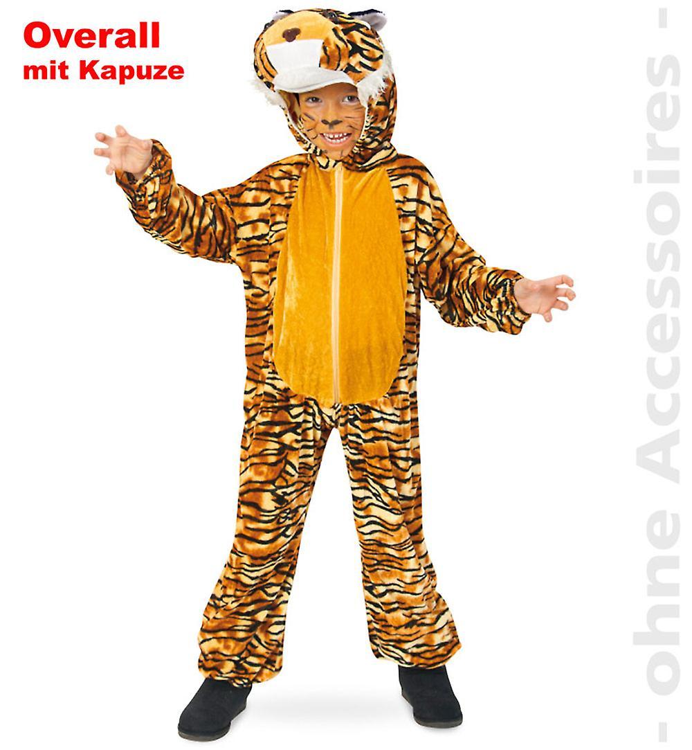 am billigsten jetzt kaufen letzter Rabatt Tiger Kostüm Tigeroverall Overall Kinder Raubtier Raubkatze Kinderkostüm