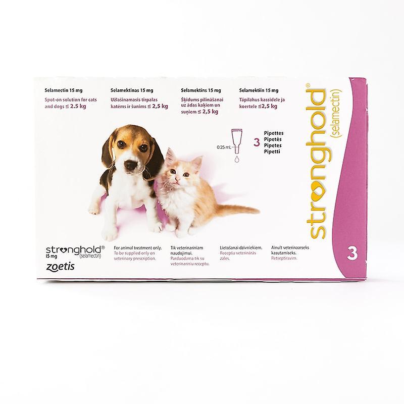 stronghold cani  Stronghold per gatti & cani sotto 2.5 kg (5 lb) rosa, confezione da ...