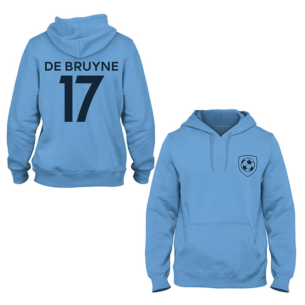 separation shoes d78af 3a48f Kevin De Bruyne 17 Manchester City Style Player Hoodie