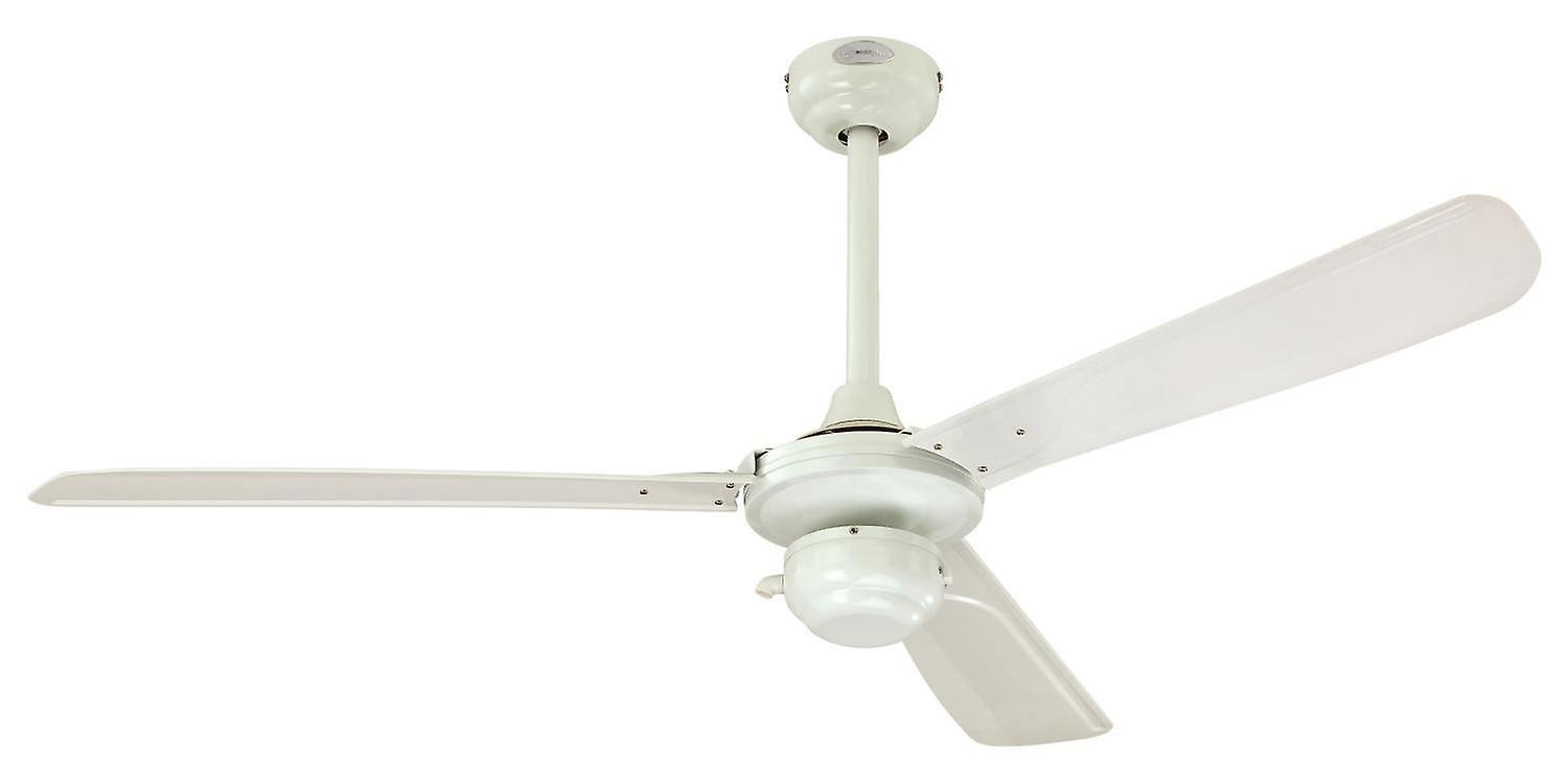 Westinghouse outdoor ceiling fan Mountain Gale white with pull cord ...