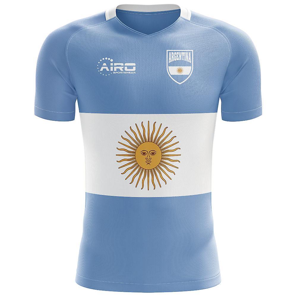 2490eceea 2018-2019 Argentina Flag Concept Football Shirt