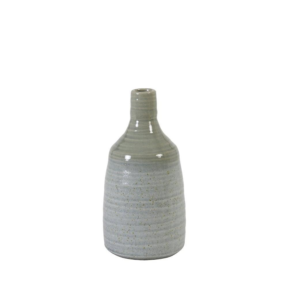 Light & Living Vase Deco 13x26cm Ceiba Grey