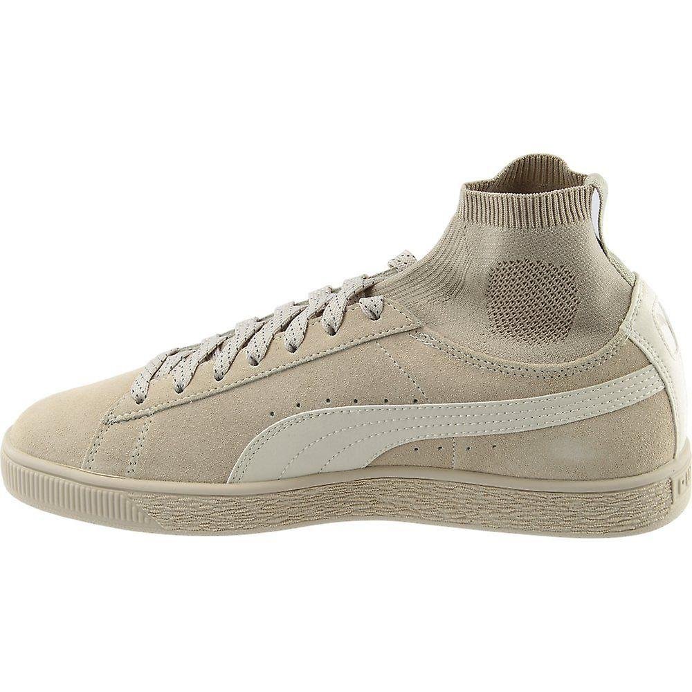 Puma Mens Suede Classic Sock Suede Low Top Lace Up Fashion Sneakers