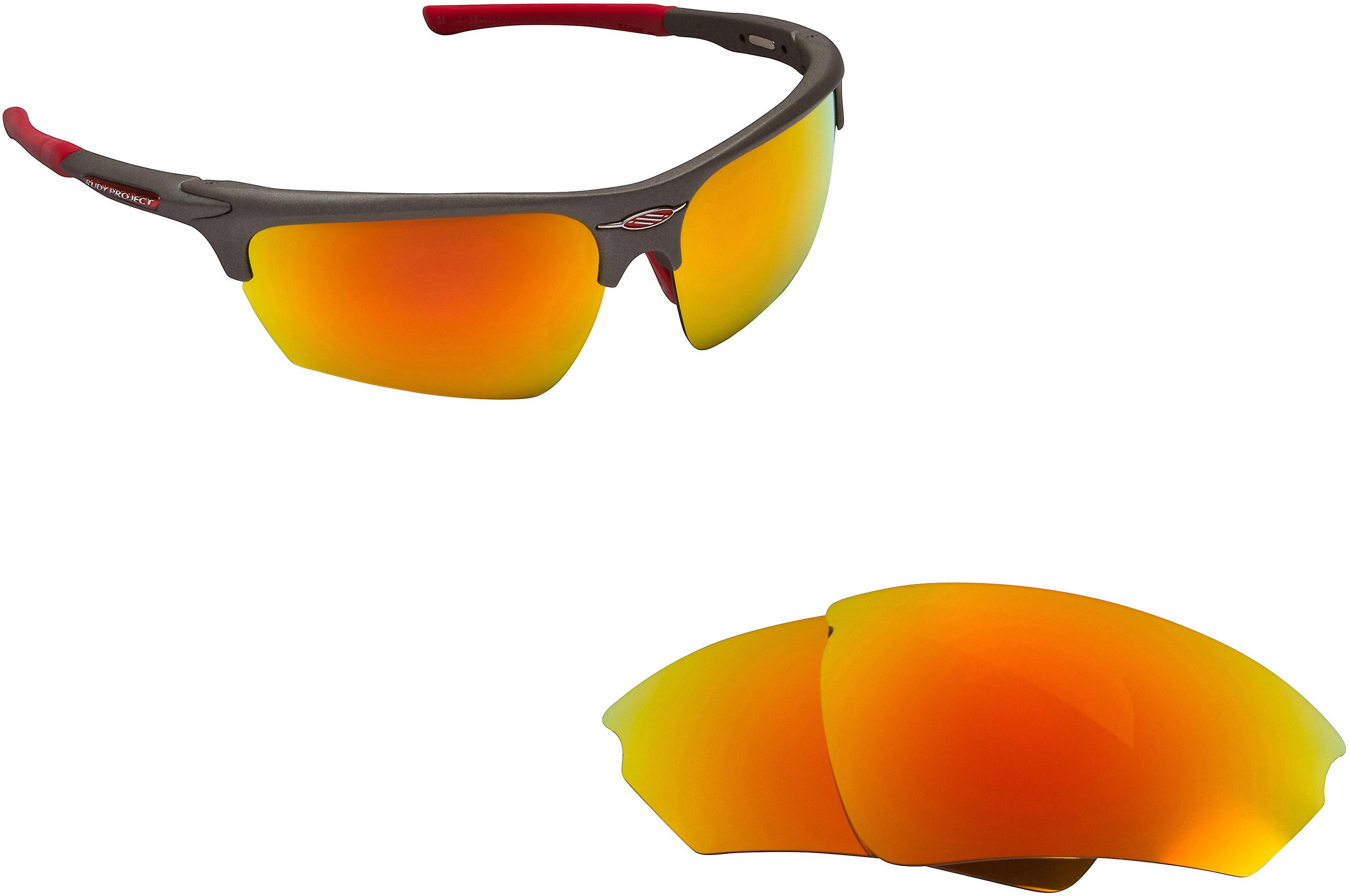 8b01798ae2 Noyz Replacement Lenses Polarized Red Mirror by SEEK fits RUDY PROJECT