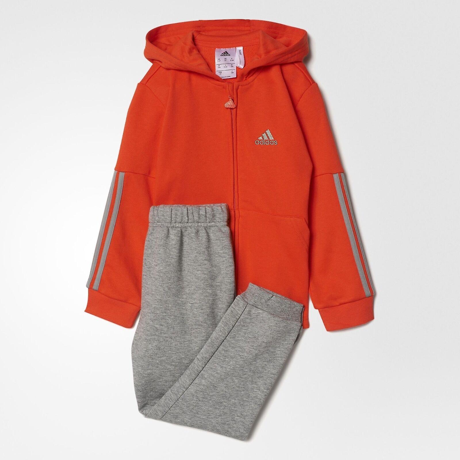 trainingsanzug adidas orange