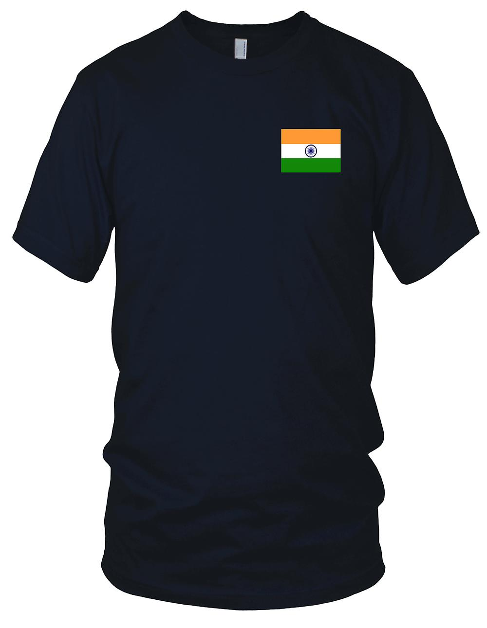 India Country National Flag Embroidered Logo 100