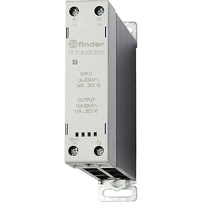 Finder SSR 1 pc(s) 77 11 8 230 8251 Current load (max ): 15 A Switching  voltage (max ): 305 V AC Random turn on