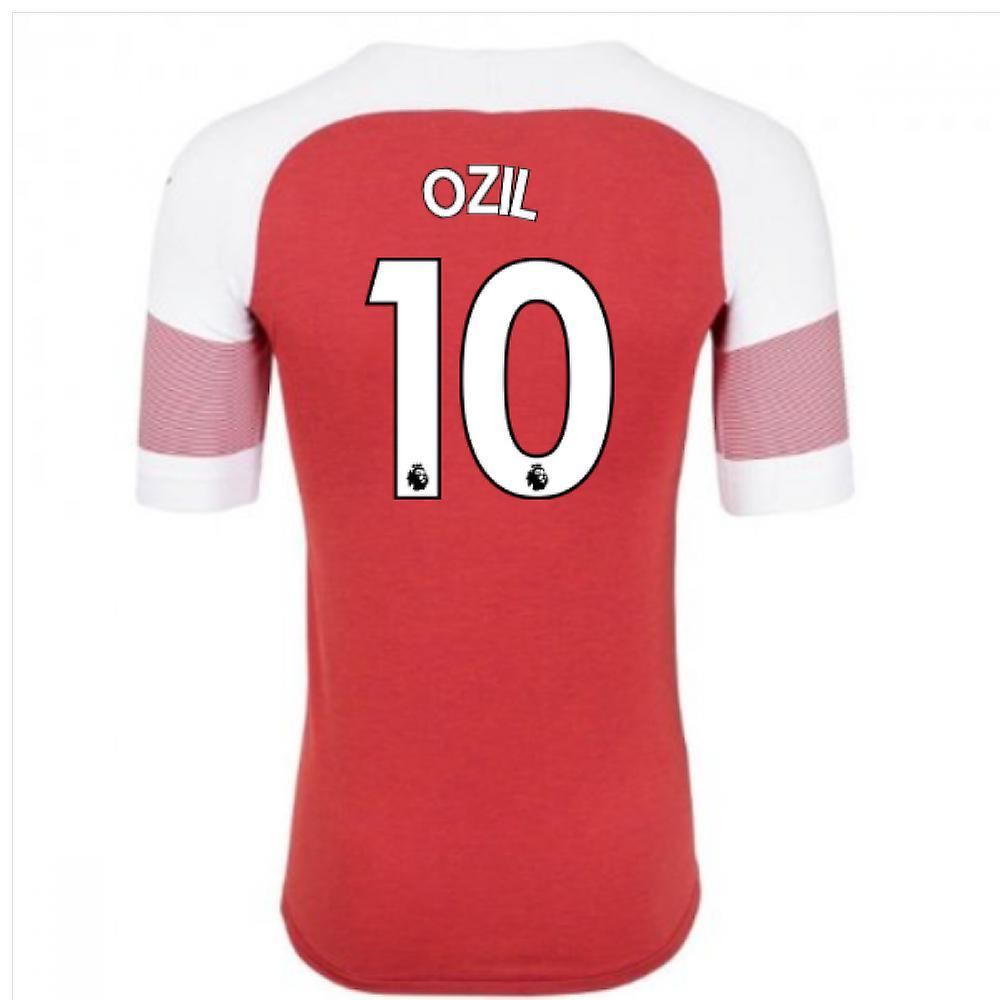 timeless design b67d5 129a2 2018-2019 Arsenal Puma Home Football Shirt (Ozil 10) - Kids