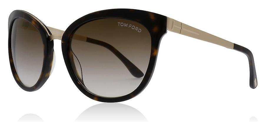 6688e95811dc9 Tom Ford Emma 52G Tortoise   Gold Emma Cats Eyes Sunglasses Lens Category 2  Size 56mm